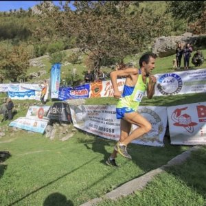 Giuseppe Molteni secondo classificato Tracciolino Trail running only up 2020