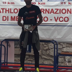 Triatlhon internzionale di candia 2019 distanza 70.3 km. 9 assoluto 1 categoria